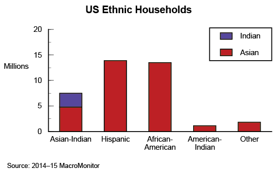 Asian and Indian Households